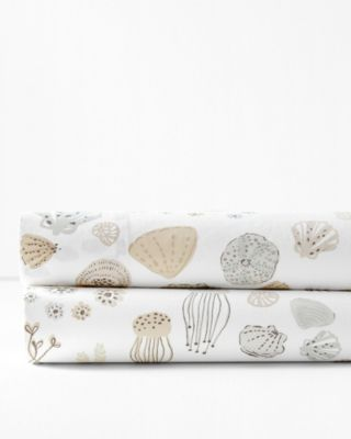 Sea Life Organic-Cotton Percale Bedding