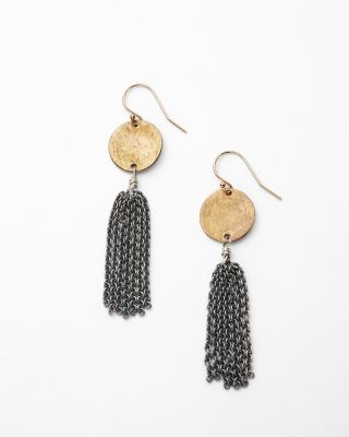 Kristen Mara Demeter Tassel Earrings