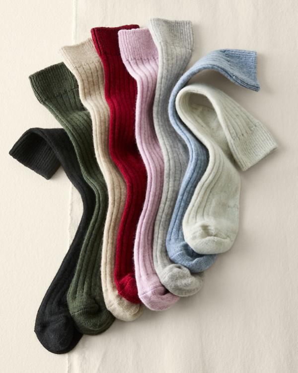 b0283132764 Women s Cashmere Socks  Crew Socks or Knee-Highs
