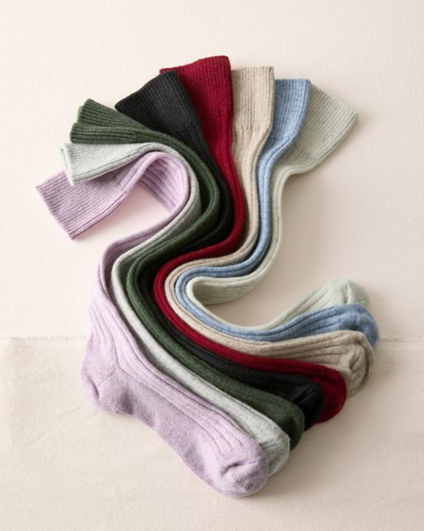 16048fc82 Women s Cashmere Knee-High Socks