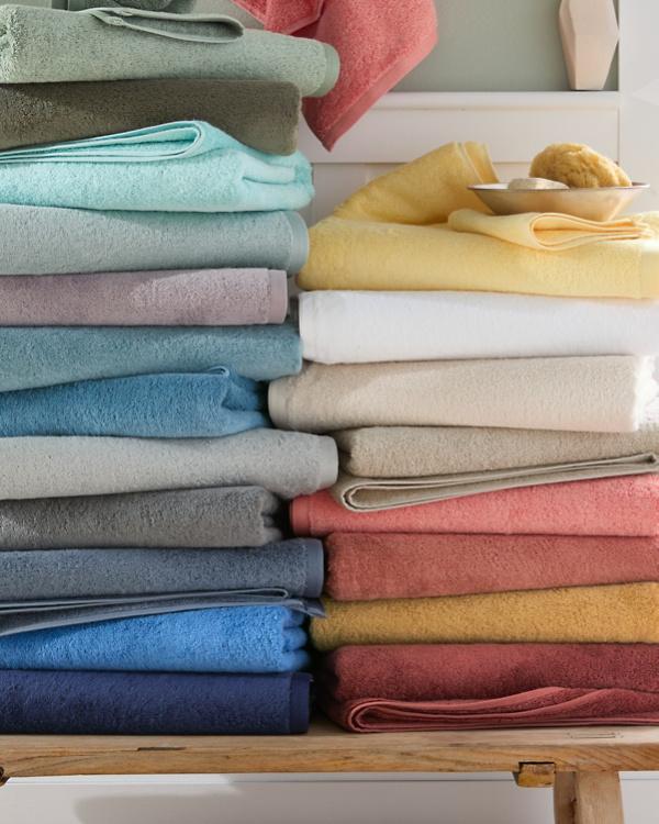Signature Egyptian Cotton Bath Towels Garnet Hill