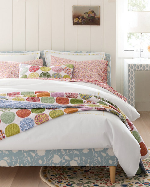 Cotton Quilts And Coverlets Pillow Shams Garnet Hill