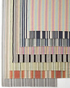 Dash & Albert Cottage Stripe Cotton Rug Collection