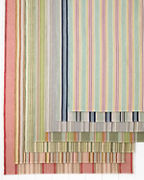 Cottage Stripe Cotton Rug Collection by Dash & Albert