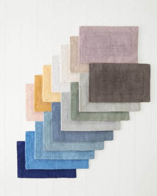Cotton Bath Rugs Solid Bath Rugs Garnet Hill