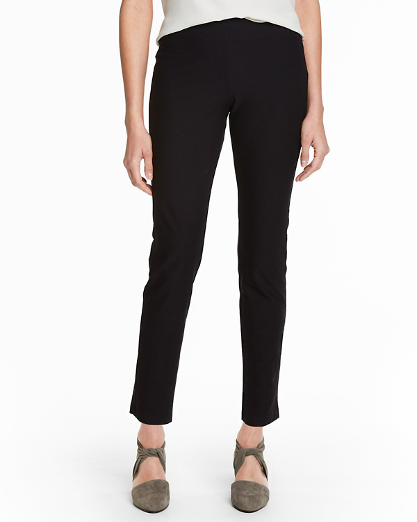7d9b48d2a4b6c EILEEN FISHER Stretch-Crêpe Slim Ankle Pants - Regular