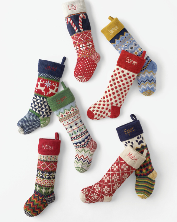woolen stocking