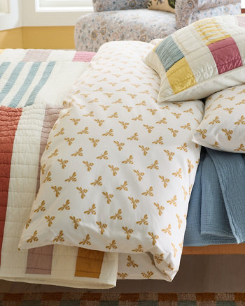 Shop Mini-Print Percale Sheets