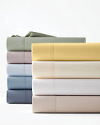 Solid Hemstitched Supima® Percale Bedding