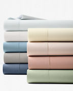 Solid Hemstitched Supima® Percale Cases
