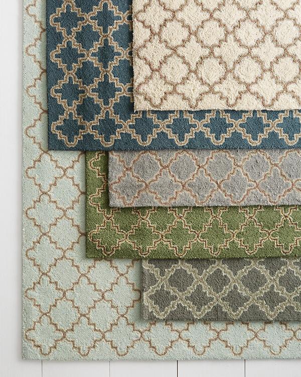 Tin Tile Hooked Wool Rug By Dash Albert Garnet Hill