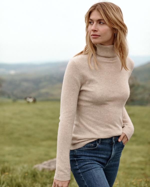 f52953f9 Cashmere Turtleneck Sweater | Garnet Hill