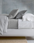 EILEEN FISHER Rippled Organic-Cotton Coverlet and Shams