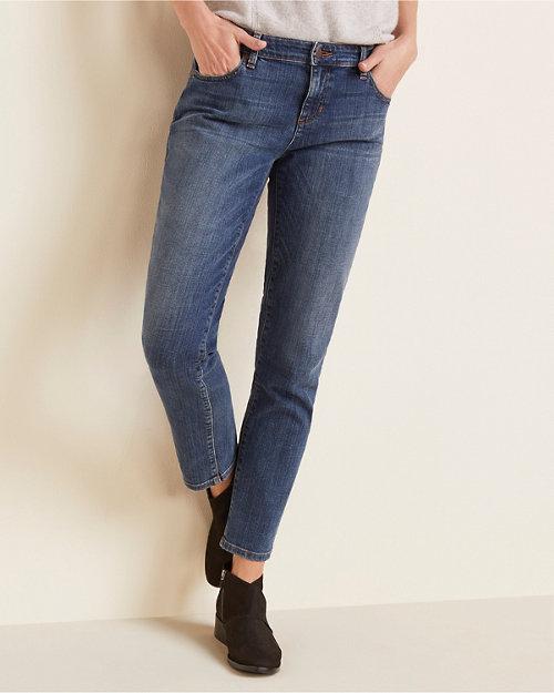 61004c9c3252 EILEEN FISHER Organic-Cotton Stretch Boyfriend Jeans