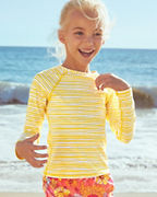 Kids' UPF 50+ Long-Sleeve Swim Tee