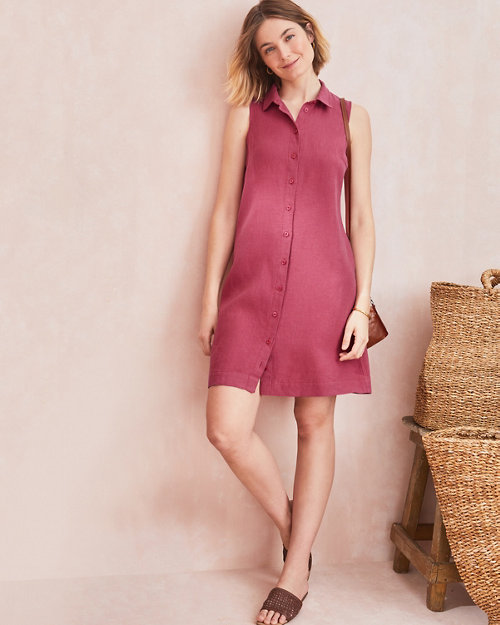 950bd7bb39b Linen Shirtdress. Quick Shop