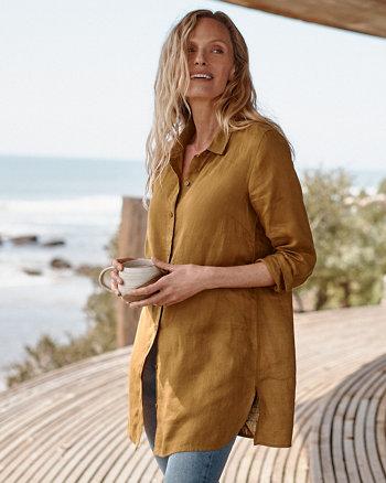 Garnet Hill Linen Clothing for Women