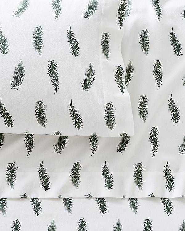 6b6cee32ee Mini-Print Flannel Bedding