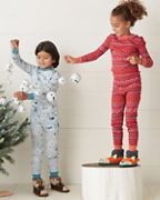 Kids' Signature Organic-Cotton Long Johns
