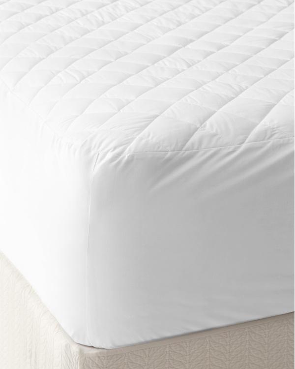 All Cotton Mattress Pad Garnet Hill All cotton mattress pad no polyester