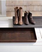 Garnet Hill Metal Boot Tray