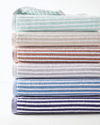 Ribbed Stripe Towels