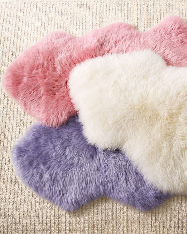 Sheepskin Accent Rug Garnet Hill