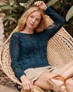 Easy Cabled Pullover
