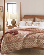 Umbria Paisley Quilt and Sham