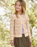 Girls' Popcorn Cardigan