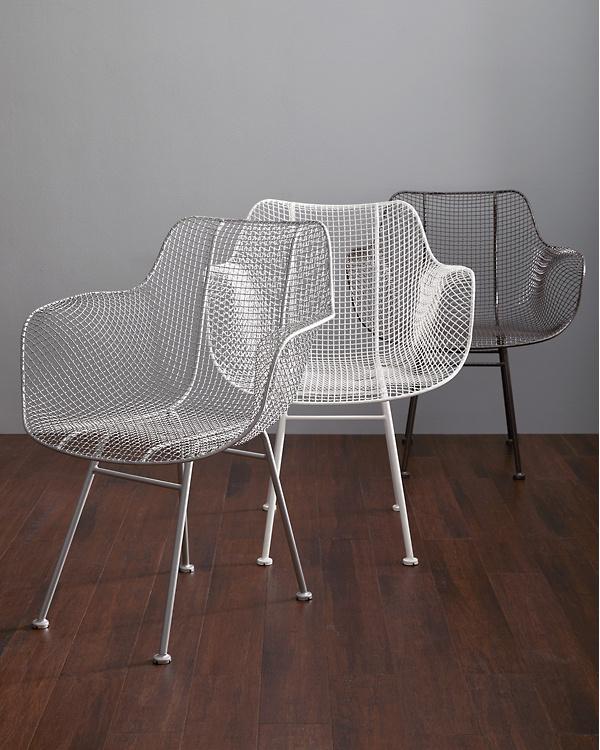 Wire Armchair | Biscayne Wire Chair Garnet Hill