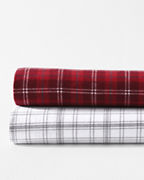 Plaid Paintbrush Flannel Bedding