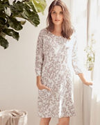 Easy Knit Organic-Cotton Pocket Gown