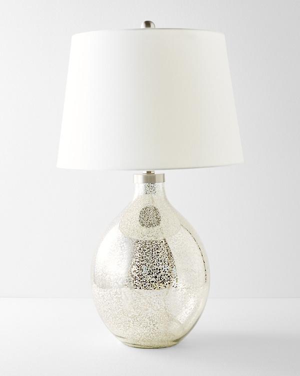 Mercury Glass Table Lamp Garnet Hill