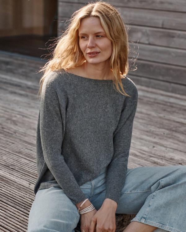 b27556a4df4 Cashmere Cropped Sweater