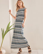 Santorini Knit Maxi Dress