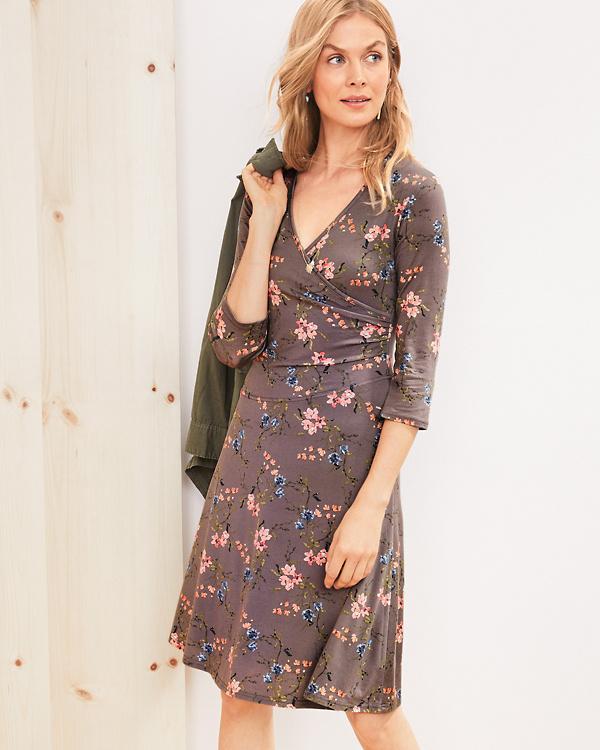 b64e1fc5c Brianna Surplice Knit Dress   Garnet Hill