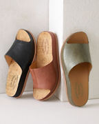 Kork-Ease® Tutsi Leather Slides