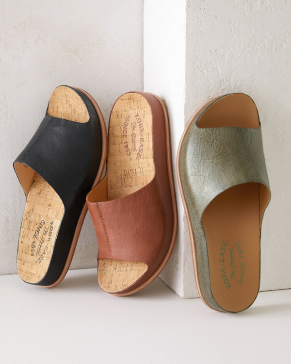 ac56f0e9cc0 Kork-Ease® Tutsi Leather Slides