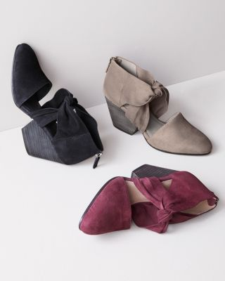 Eileen Fisher Margo Suede Wedges by Garnet Hill