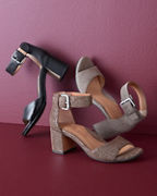 Gentle Souls Christa Heeled Sandals