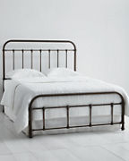 Arlington Iron Bed