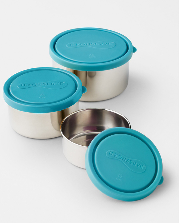 U Konserve Eco Round Nesting Lunch Containers Garnet Hill