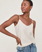 Washed-Silk V-Neck Camisole