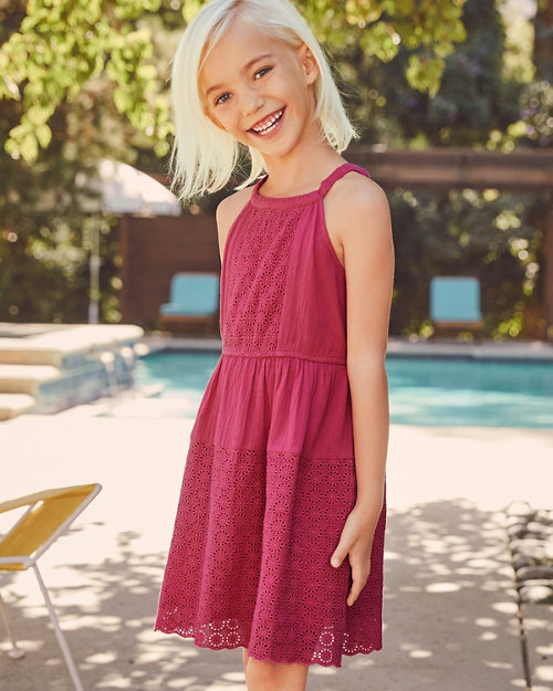 c06e5d3df0 Girls' Knit Dresses, Girls' Cotton Dresses | Garnet Hill