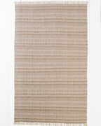 EILEEN FISHER Sandstone Cotton Woven Rug