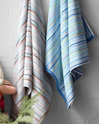 Garnet Hill Signature Striped Towels