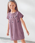 Girls' Jolie Embroidered Cotton Dress