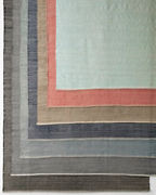 Herringbone Woven Cotton Rug by Dash & Albert