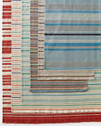 Garnet Hill Woven Cotton Stripe Rug